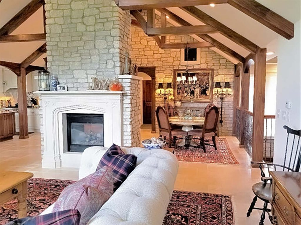 English Country style condo