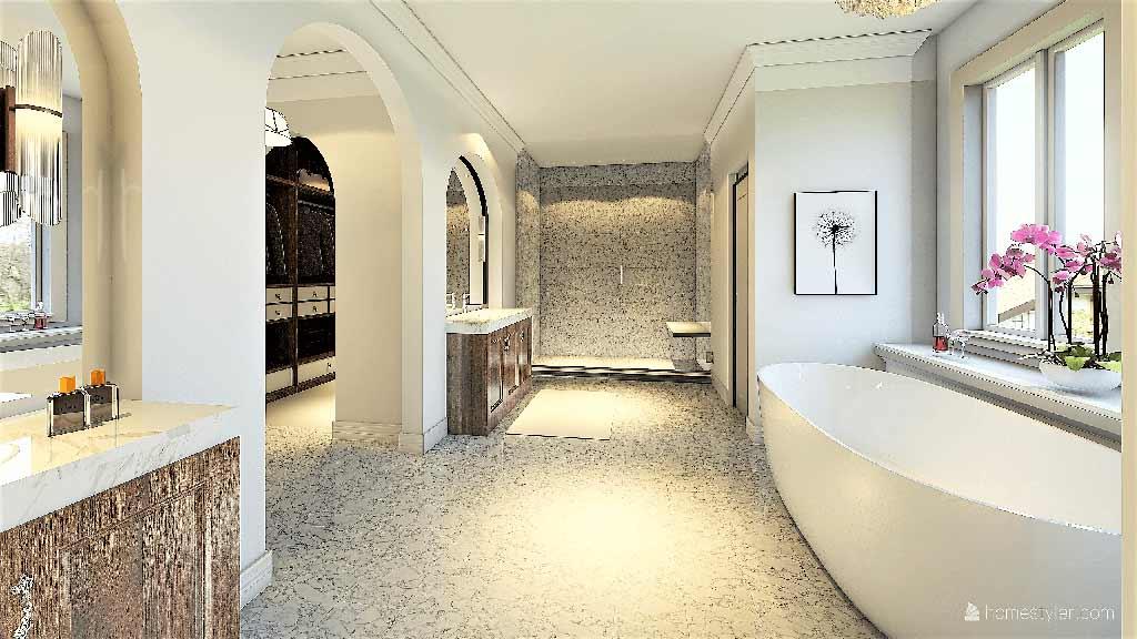 Master Bathroom Interior Design