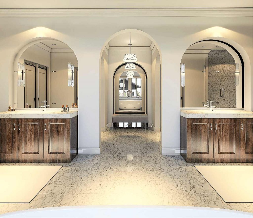 Master Bath Interior Design
