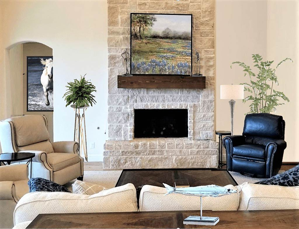 Neo Traditional Family Room