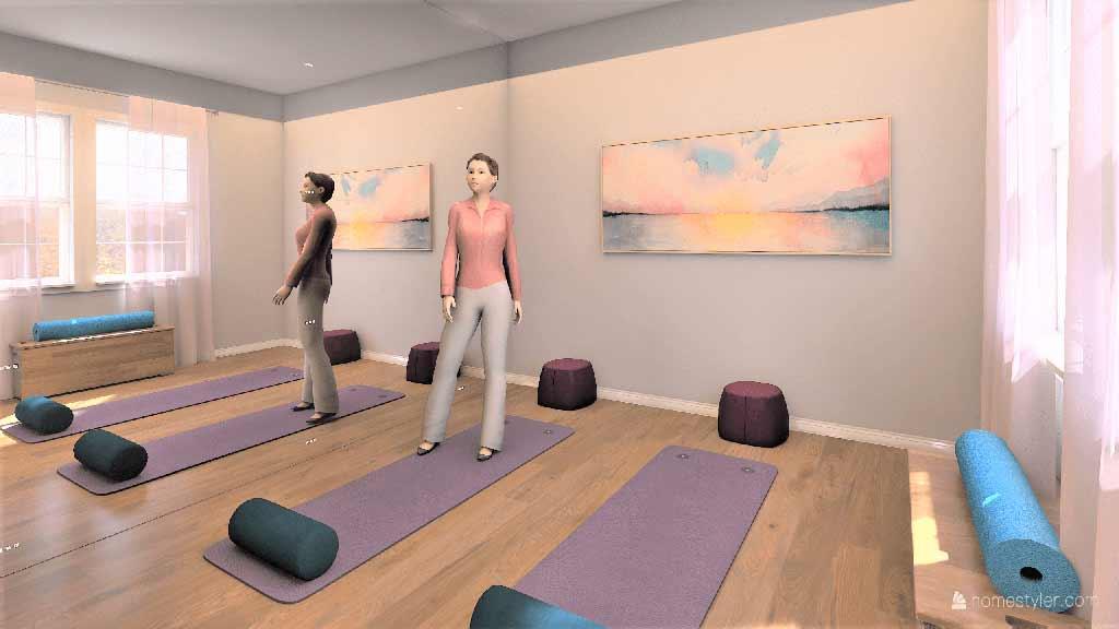 Yoga Studio Interior Design
