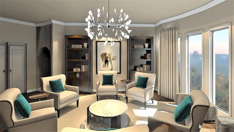Conversation Room CAD Design