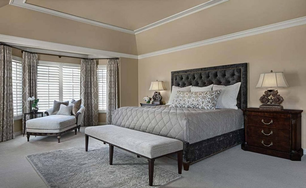 Master Bedroom Design - photo credit: Beth Singer Photography